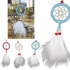 New Beautiful Feathers Circle Dream Catcher Wall Hanging Decoration Car Ornament