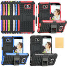 Hybrid Shockproof Dual Layer Kickstand Full Protect Hard Case Cover for Samsung