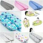 deluxe FEEDING MATERNITY PILLOW RELAX SUPPORT PREGNANCY long  REMOVABLE COVER