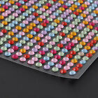 Newest Clear Rhinestone Self Adhesive Diamonds Stick on Gems Decor 1012pcs