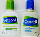 Cetaphil Moisturizing Lotion or Gentle Skin Cleanser 4 OZ (118mL) 1 or 2 Bottles
