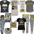 Ladies Batman Pyjamas  Dc Comics Pj Womens T Shirt Shorts Lounge Pant Primark Nw