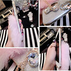 BLING ADMIRING BOWKNOT TASSEL CHAIN FLUFFY CASE COVER FOR IPHONE 5 5S 6 6 PLUS