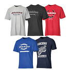 Dickies Mens Patterned Cotton Rich T-Shirt Pack (5 Pack)