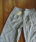 New Elevenses Anthropologie Wide-Leg Button Side Cropped Pants Capris 2