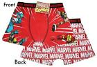 Marvel Comic's - Captain America, Thor, Ironman, Wolverine - men's boxer shorts