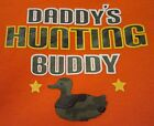 "My 1st First ""Daddy's Hunting Buddy"" Veteran's Memorial Day Onesie NB - 6 Mos"