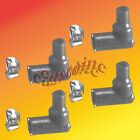 4 Universal Spark Plug Boots Includes Terminal and Elbow, Briggs, Tecumseh, Engine