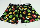 Mens Angry Birds Brand Black White Red Green Yellow Orange Boxers Size S M