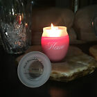 Hand Poured Soy Jar Candle | HOME - A house is made of wood and stone, but only