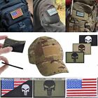 Patches Shoulder Board 3D USA-Flag Skull Embroidered Iron-On Badge Motif Cool