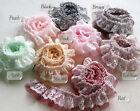45 x 4 cm Beautiful Ruffled Lace Trim/Skirt