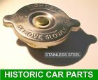 RADIATOR CAP STAINLESS STEEL - 7 psi for MGA 1600 TWIN CAM 1588cc 1958-60