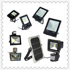Solar/Motion Sensor LED Flood Light Waterproof IP65 Outdoor Lamp 10w 20w 30w 50w