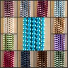 """HB1081-1093 10mm Wholesale Glass Pearl Ball Loose beads 15"""""""