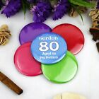 Personalised 80th Birthday Party Badge | Pin Style | 5cm Badge