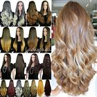 100 Thick 3 4 Half Wig Long Straight Curly Wavy Women Cosplay Clip in Hair Wigs