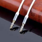 Gold 3.5mm Male to Male Car Aux Auxiliary Cord Stereo Audio Cable For Phones MP3