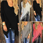 GK Elegant Sexy Long Sleeve Batwing Beach Blouse Summer Hawaii Macrame Tops
