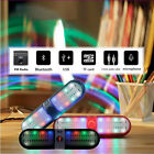 Wireless Bluetooth Speaker Super Bass Stereo FM TF With LED Colorful Light