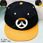 Blizzard Overwatch OW Logo Embroidered Adjustable Baseball Hat Cap Gift