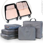 5 Pcs Travel Luggage Set Suitcase Hand Baggage Packing Cubes Lightweight Holiday