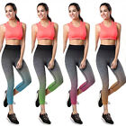 Womens Fitness Sport Gym Workout Exercise Cropped Leggings Sweat Pants Trousers