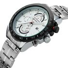 NEW CURREN Men's Quartz Watch Fashion Stainless Steel Casual Analog Auto Date