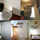 1/15Roll 3D effect Flexible Stone Brick Wall Viny Wallpaper Self-adhesive Decor