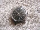 Vintage Timex Watch Black Dial