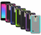 For LG K7 , LG Tribute 5 Case Hybrid Shockproof Dual Layer Protector Phone Cover