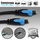 Toslink Cable, INNOVAA Digital Fiber Optical Audio Toslink Cable