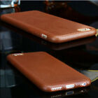 Luxury Ultrathin Leather Grain Soft TPU Case Cover Skin For iPhone 5 6 6s Plus