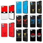 POKEMON GO STYLED POKEBALL POKEDEX SILICONE PHONE CASE COVER IPHONE 5/5s SE 5C 6