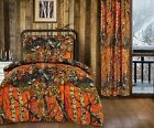 4pc CAMO Sheets & Comforter TWIN BEDDING SET Regal Comfort THE WOODS  11 colors