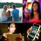 LED White Light Up Latest Selfie Phone Case Cover For iPhone 5 SE 6 6S 6 Plus UK