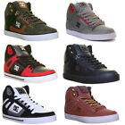 Dc Shoes Spartan High Mens Leather Matt Trainers