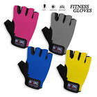 Weight Lifting Gloves Mesh Net Suede Leather Gym Padded Palm Workout Gloves
