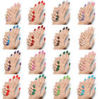 New Fashion Smooth Nail Art Sticker Stencil Patch Armour Wraps Decoration Cool