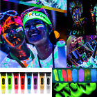 Halloween Fun Fuorescent Body Oil Paint Color Run Makeup 8 Color Flash Night UV
