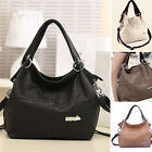 Women LADIES PU Leather Shoulder Bag Tote Purse Satchel Hobo Messenger Handbag