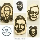 Badge pin Lovecraft Hemingway Bradbury Edgar Poe George Martin American Writers