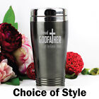 Godfather Personalised Engraved Travel Mug Gift | Add a Name & Message
