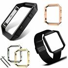 Stainless Steel Metal Frame Holder Replace Shell for Fitbit Blaze Smart Watch  image