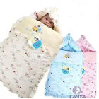 Newborn 100% Cotton Brand  Swaddle Wrap Swaddling Blanket 0-12 Months