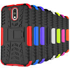 For Motorola Moto G 4th Generation Case Rugged Armor Kickstand Protective Cover