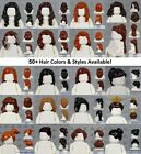LEGO - FEMALE Hair Pieces - PICK YOUR COLORS & STYLE - Minifigure Wigs Cap Lot