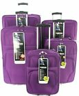 Lightwieght Set Of 4 Suitcases Trolley Case Travel Luggage Cabin Suitcase Bag