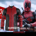 Marvel Comics Deadpool Deluxe Faux Leather Jacket Cosplay Costume