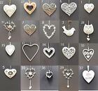 Vintage Style Wedding Hanging Hearts Heart Home Christmas Tree Decoration Gift